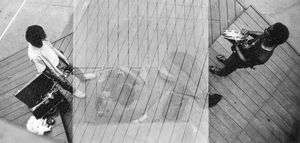 Roscoe, Malachi and Lester, from above. Chicago 1965