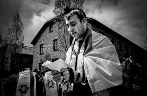 A prayer in Auschwitz