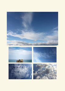 N°141 - La tête dans les nuages - Héracles - 2012.