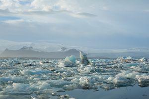 Jokulsarlon Glacier in Iceland