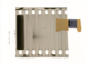 Missing Memory 24. Giclée print with collage of film negative. 30 x 40 cm