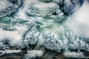 Hidden Forms in Ice 1