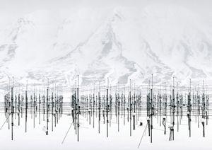 SOUSY Svalbard Radar [SSR], Adventdalen, Spitsbergen Island, Norway, 2010 © Vincent Fournier