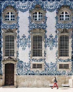 Azulejo Facade of Porto, Portugal (2017)