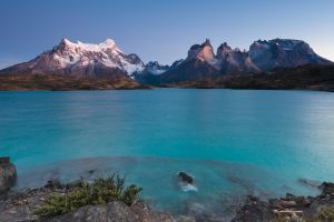 Twilight color in Patagonia