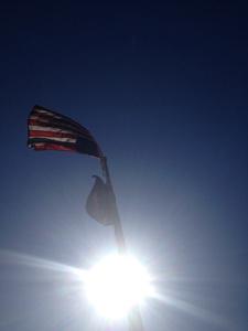 Shandaken Eagle time capsule flags
