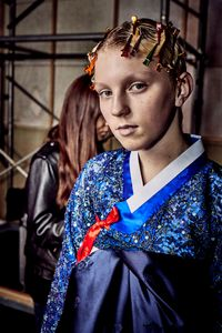 fashion show  back stage