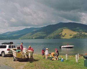 Summer boat launch, Khancoban