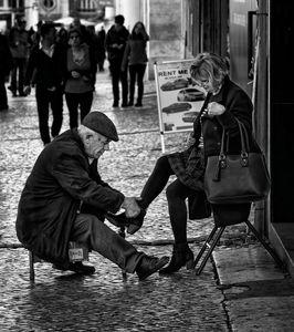 The Shoeshiner