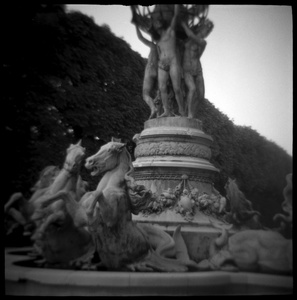 Fountain in the Luxembourg Gardens, Paris, France
