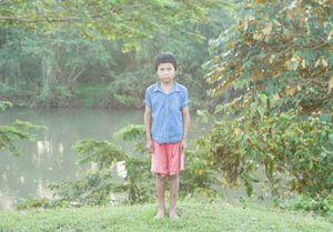 Riverside boy, Awas Tingni, Nicaragua