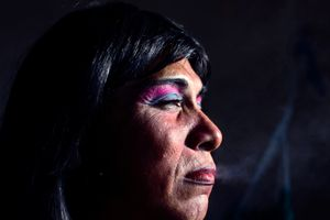 """Reyna Patricia become HIV-positive 6 years ago. """"It was the worst news I could get."""" © Meeri Koutaniemi"""