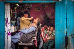 Fatehpur Sikri Barber