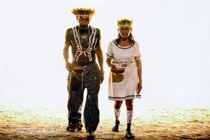 Chief Calixto with Zafiango (wife)