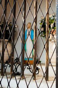 Chapel - behind bars