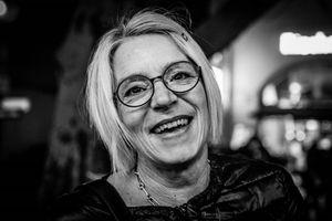 Sandra in Munich in January 2020