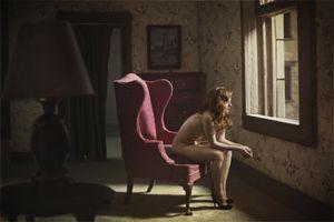 "Woman At A Window. From the series ""Hopper Meditations"" © Richard Tuschman"