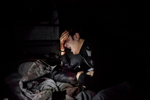 Mohamed mourns the death of his brother, who was killed in clashes between rebels and the army of Assad.