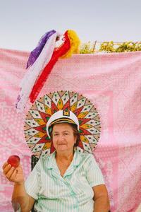 Grandmother in The Dreams Garden