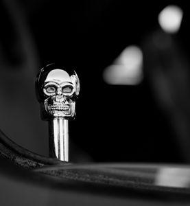Skull Door Lock Knob 9507