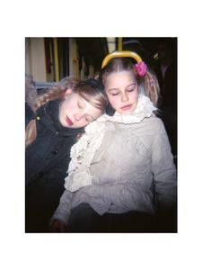 Two sleeping girls