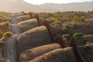 Bush's Backbone, East of Nogales, Arizona