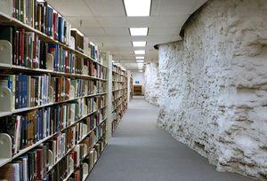 Underground academic library, Park University, Parkville, USA 2006 © Wayne Barrar
