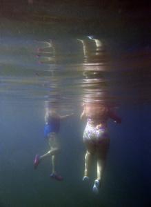 bathers X