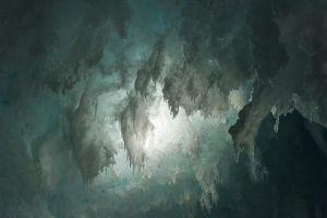 Gothic Ice, Erebus Ice Tongue Cave, Antarctica