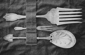 """Family Silverware"" © Lisa Blair"