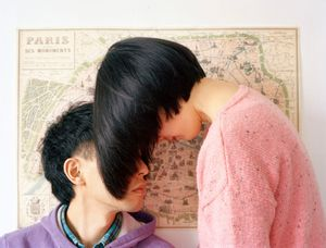 """Creating a world just for us. From the series """"Experimental Relationship"""" © Yijun Liao"""