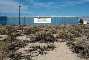 Crystal Geyser Water Bottling Plant, Olancha, Owens Lake, CA