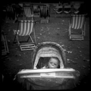 Baby in St. James Park, London, England