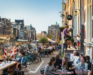 Amsterdam, Rokin, 2015
