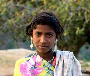 Farmer's daughter, India