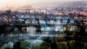 The bridges in Prague
