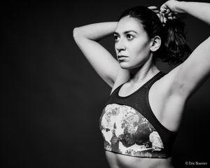 Up To Victory (Model: Chaima Lehioui).