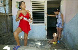 Child Mother - Guantanamo, Cuba 2016