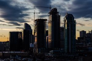 Construction in Calgary
