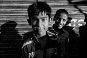 Bangladesh Two Smiling Boys