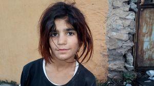 Syrian Girl. Istanbul