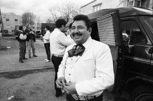 Aguileo Ramos of Mariachi Aguila y Plata.