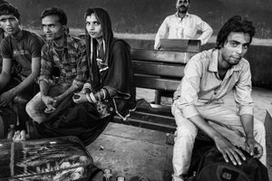 IMPRESSIONS AT THE OLD DELHI RAILWAY STATION 38