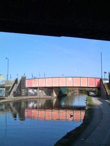Pink Bridge, Blue sky