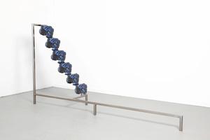 """Steps of Recursion - Tuned 2012. Part of the exhibition """"Next Level: Anne De Vries - E¬_M E R G E"""" at FOAM."""