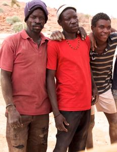 Nama People:  Men - Fathers - Workers