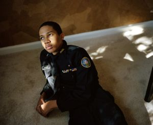 "Sharrod in the afternoon light. From the series ""I slowly watched him disappear"" © Jason Hanasik"