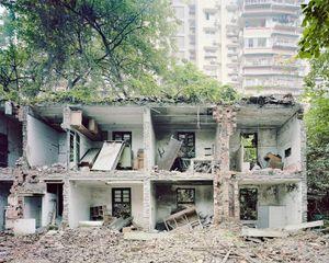 Chantier de démolition, Chongqing. Chine, Décembre 2017
