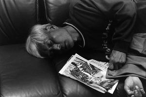 Father is sleeping