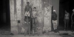 Boys on Stilts.